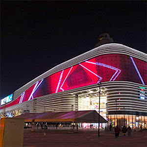 M1 LED curtain project in Shanghai